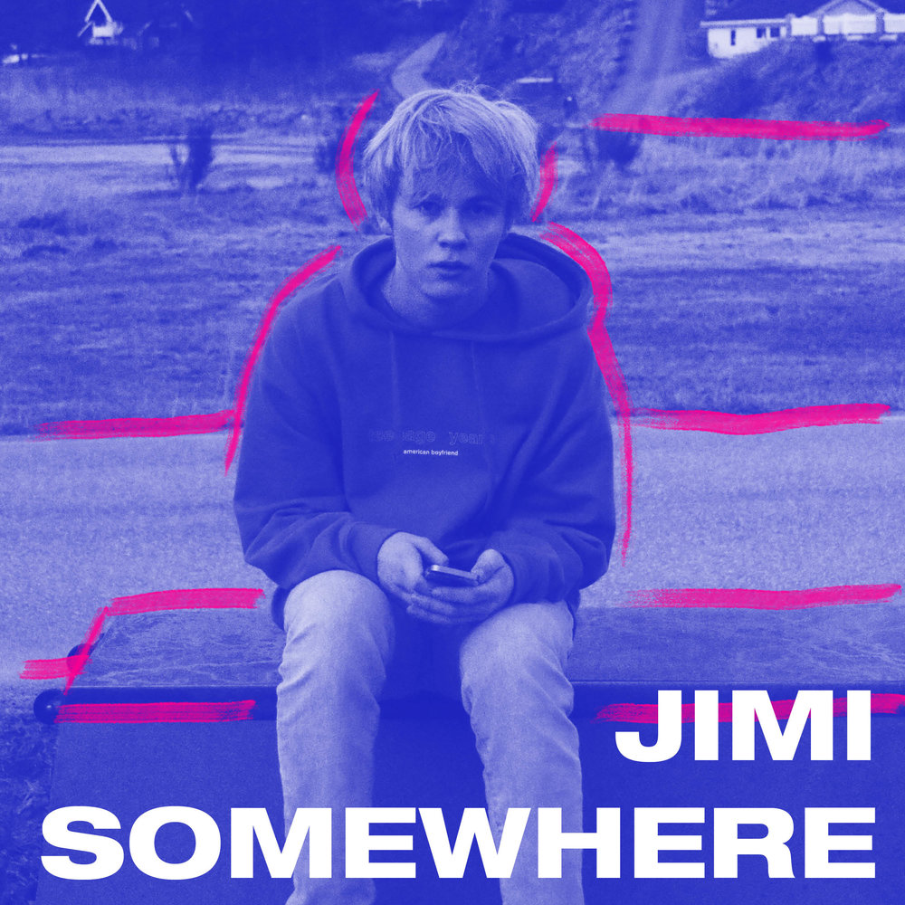 - 18 år gamle Jimi Somewhere har på rekordtid blitt et navn å virkelig se opp for, både internasjonalt og her hjemme. Med Soundcloud-EPen «MEMORIA» har drammenseren, som fortsatt går på videregående skole, fått titusenvis av avspillinger uten noe annet apparat enn seg selv og gode venner. NRK P3s Urørt-redaksjon har etter hvert frontet musikken hans, og i mars spilte han på By:Larm i Oslo. Som sin første offisielle singelutgivelse slapp Jimi Somewhere «Escape» (feat. Kyle Ennui)» i februar.