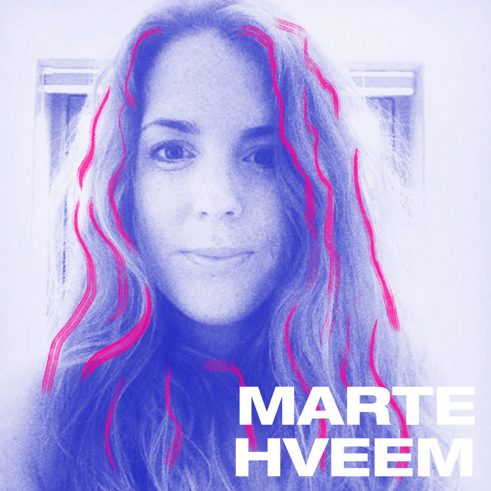 Marte Hveem er en DJ fra Oslo som spiller tung og drivende tekno. Hun har en stor kjærlighet for elektronisk musikk, spesielt tekno og elsker å dele denne gleden med andre. Det er bare å pusse danseskoa først som sist.
