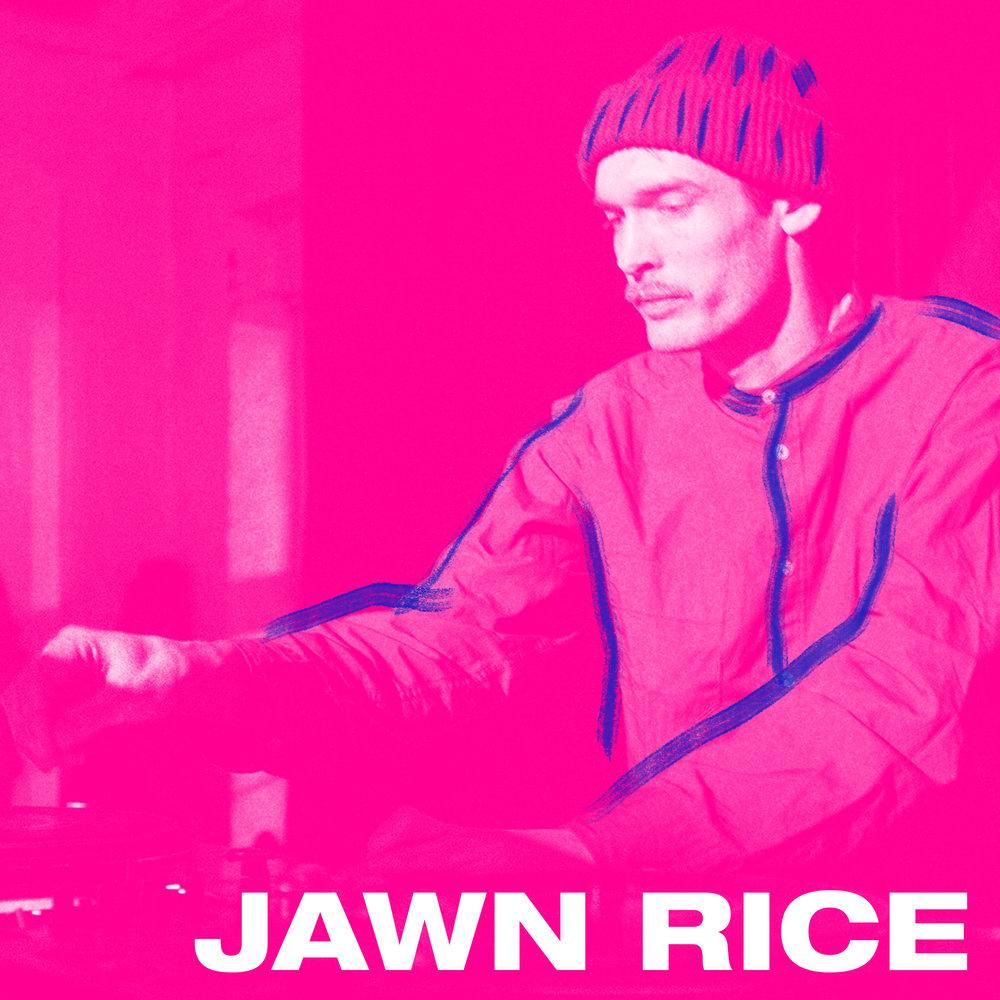 Jawn Rice startet som produsent i den anerkjente beat-trioen Oslo SP Ensemble. Fra støvete og samplebaserte beats har han eksperimentert med masse forskjellige lydbilder på søken etter en god blanding av sjangere som inspirerer han til å skape sitt eget sound.