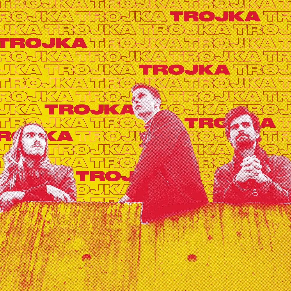 Trojka er en trio fra Bergen som spiller sin helt egen sjanger: PROG-POP! Det er snakk om synthdrevet, melodisk pop med sterke innslag av eksplosiv progrock og jazzfusion. Lekent, fengende og grenseprengende! De norske tekstene spenner fra underfundige og sarkastiske skråblikk til det såre og poetiske. Debutalbumet kom i fjor, og i juni kom første singel fra andrealbumet. Trojka har spilt sammen i en årrekke og er kjent som et tight og energisk liveband.