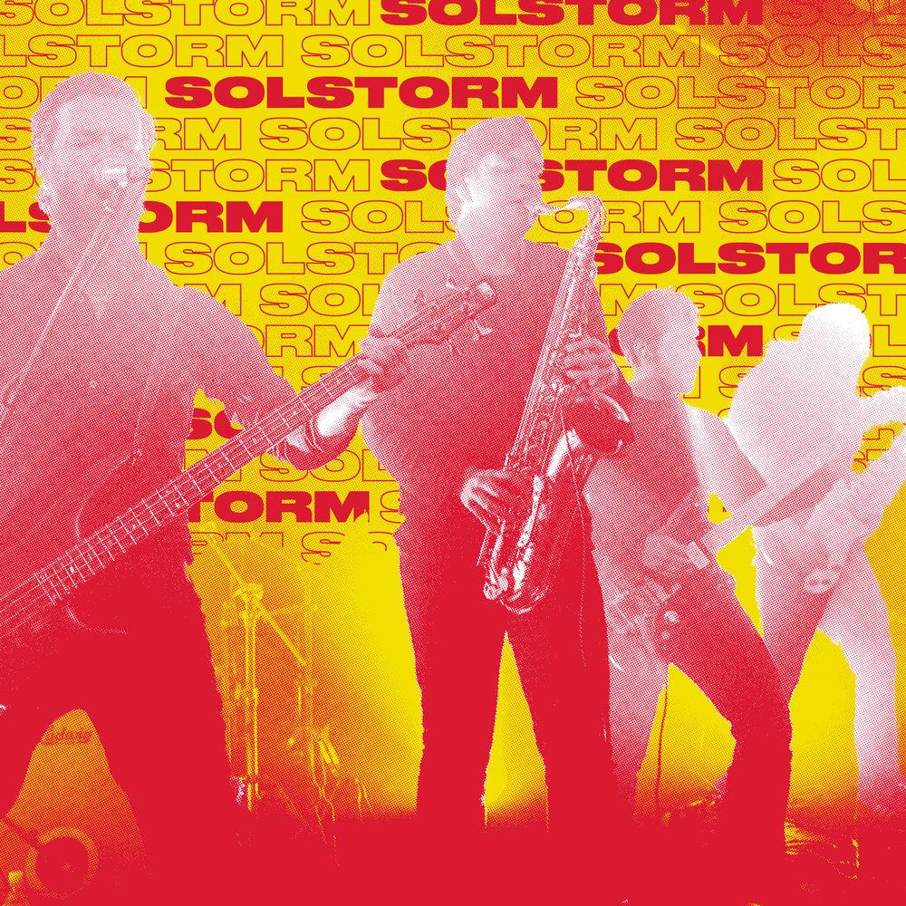 Etter flere år i dvale har det femhodete monsteret ved navn Solstorm våknet opp igjen. Solstorm er kontrasten mellom mørket og lyset, det vakre og det stygge, det vare og det tunge. Solstorm kombinerer tunge riff, harde trommer og støyvegger med såre melodier og store svevende instrumentalpartier og har blitt sammenlignet med band som Isis, Neurosis, og Cult of Luna. Debuten i 2011 fikk strålende tilbakemeldinger i både inn- og utland. Etter noen år med andre prosjekter er bandet endelig samlet igjen og i gang med nytt materiale.