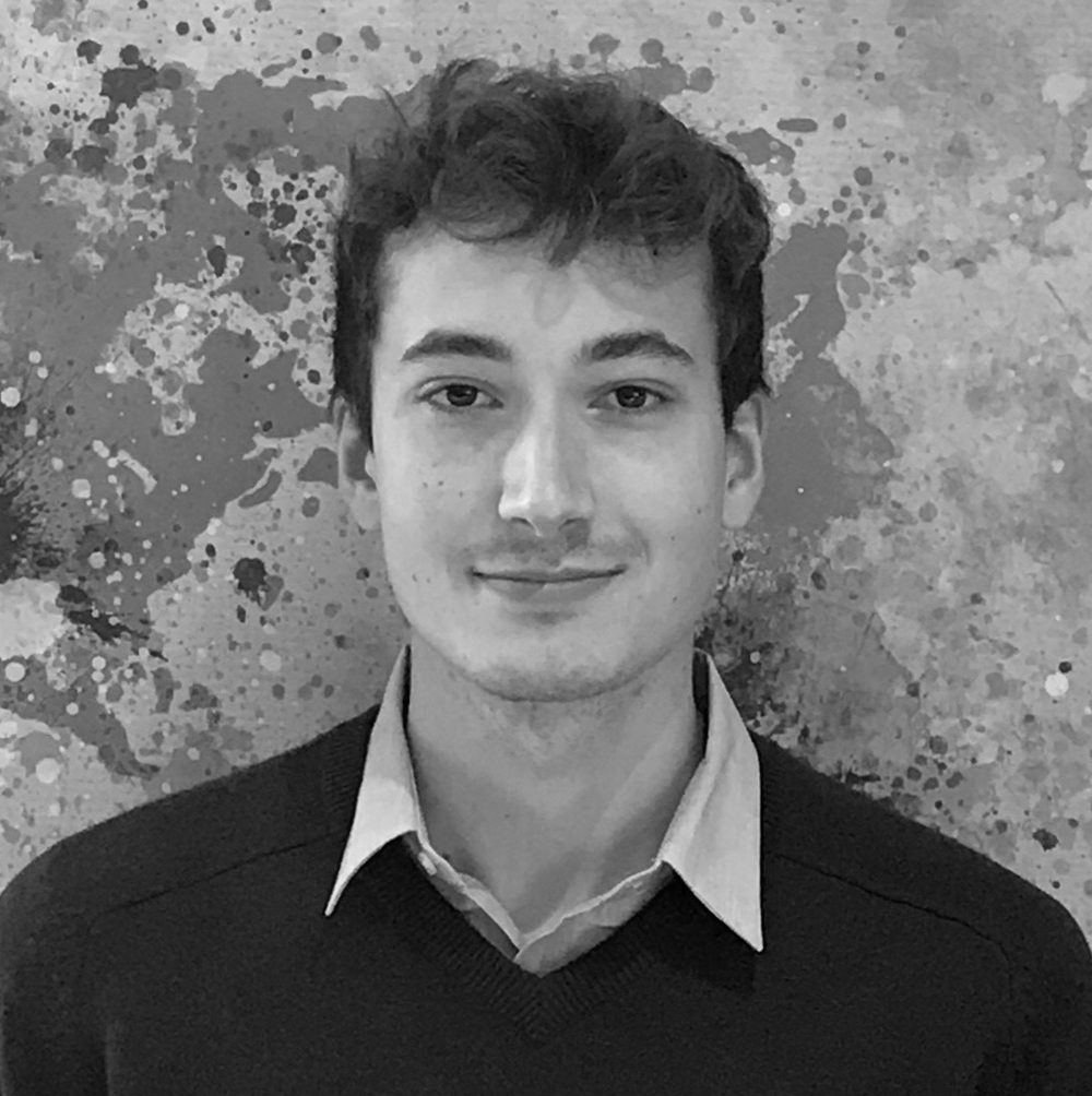Pierre Ferran - Legal Data Analyst   Pierre is a 3rd year European Law Student at Maastricht University, where he studies comparative law in four European jurisdictions. He is particularly interested in LawTech, and has been developing software in his free time since a young age.  In 2018, he participated in the innovative Law Without Walls program, where, with his team he focused on streamlining low risk contract lifecycle for in-house legal teams.