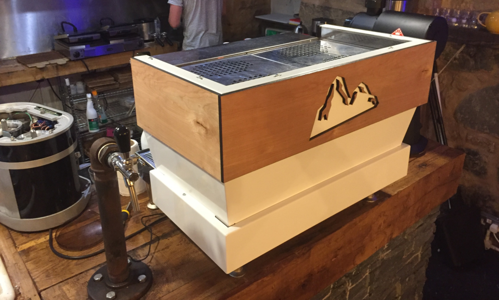 Custom Linea coffee machine