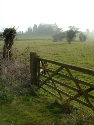 The Priory at Binham