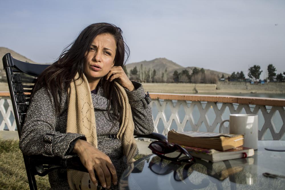 Reflections at Lake Qhargha, Kabul