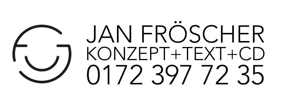 JAN FRÖSCHER Creative+Consultant