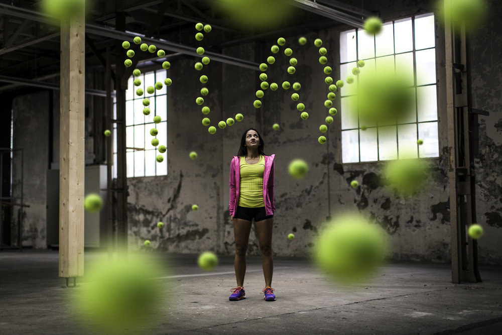 Client:  ASICS Switzerland  - Project:  PLAY TENNIS