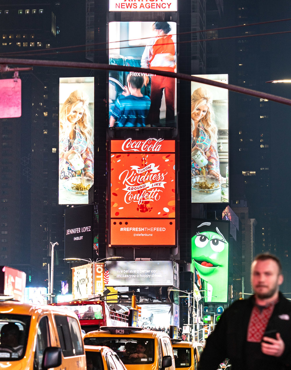 BILLBOARD - TIMES SQUARE