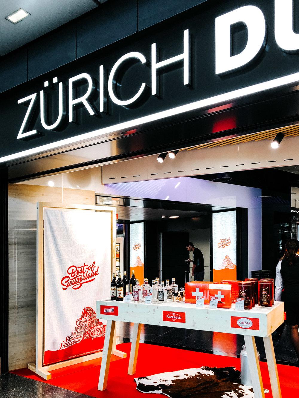 Stefan Kunz Duty Free Airport Zurich