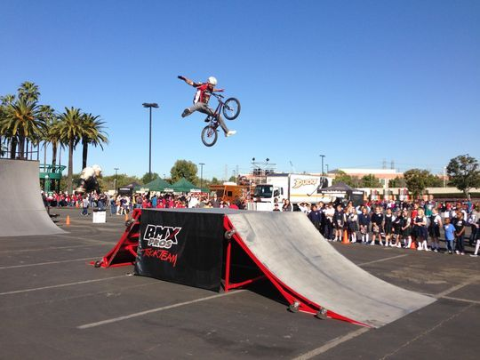 BMX Pros Trick Team. (Photo: Photo courtesy of Oz Arts)