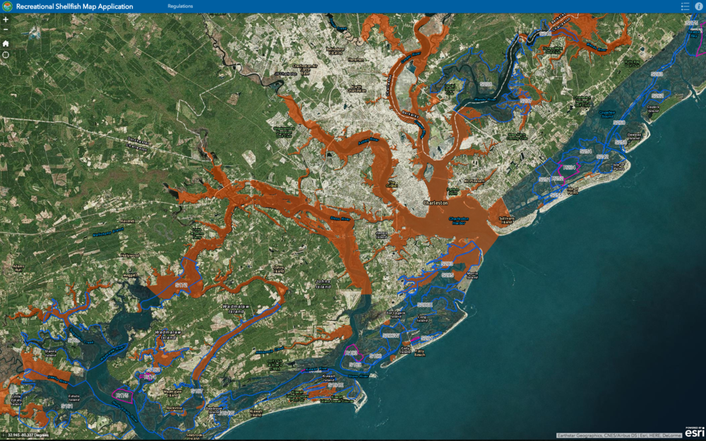 Oyster harvesting made easier with new map south carolina coastal nov 30 oyster harvesting made easier with new map gumiabroncs Choice Image
