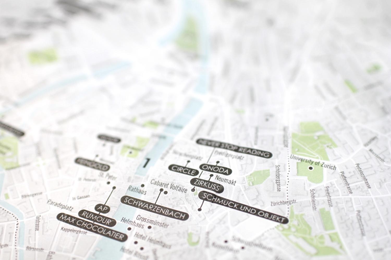 Zurich Map By Juneu0027s Choice