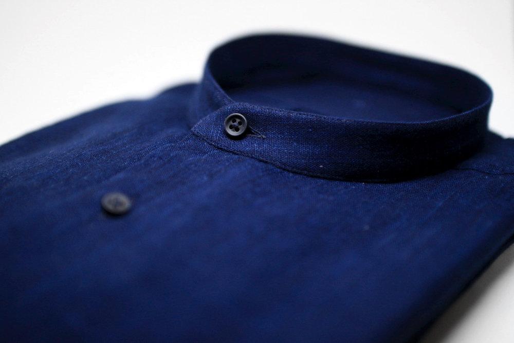 Onoda indigo shirt