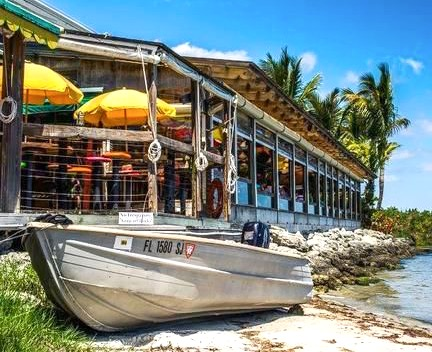 Captain Hiram's Sandbar beach club