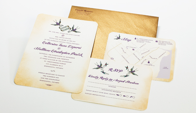 Wedding Invitation Toronto