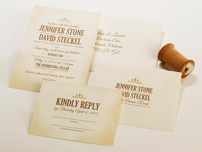 Wedding Invitation Printing Toronto: Toronto Weddings Invitations