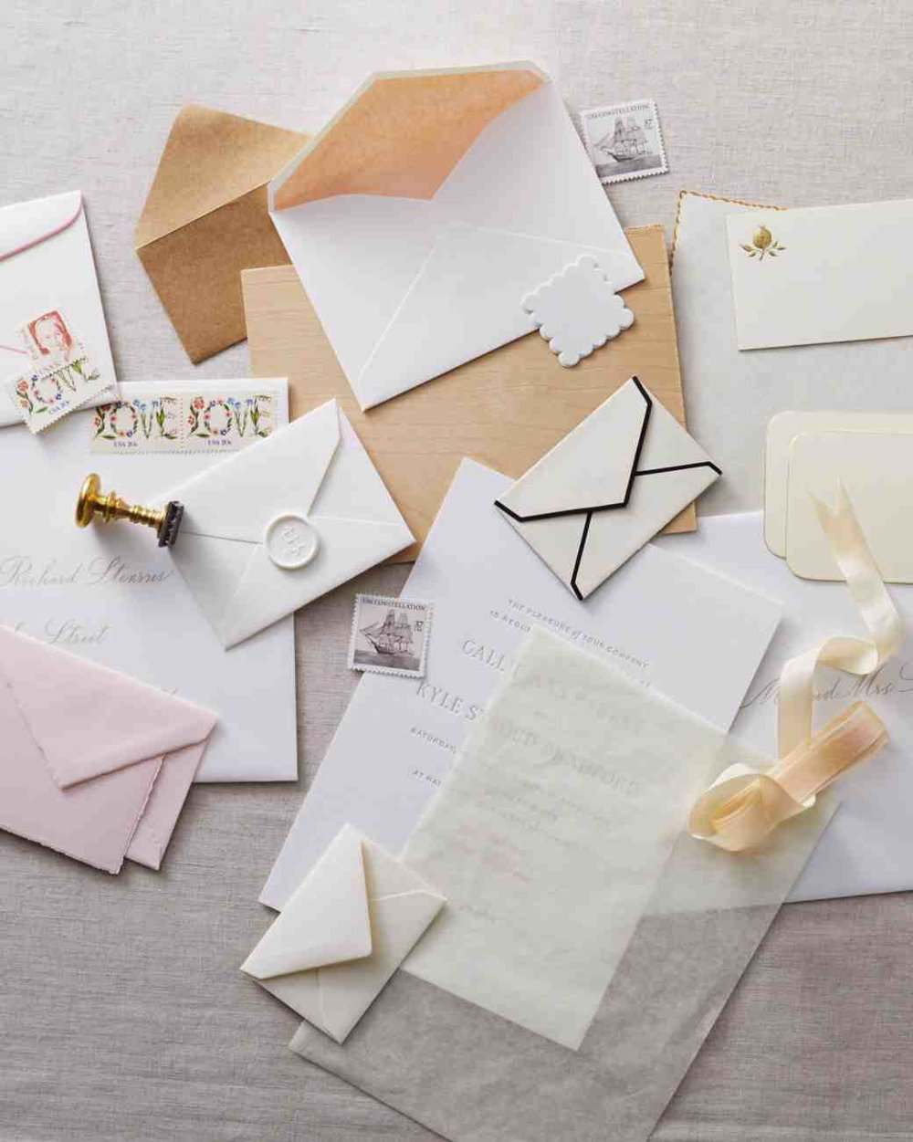 If Youu0027re Getting Close To Picking Up Your Super Glam And Perfect  Invitations You May Want To Ask Your Stationer About Stuffing These  Fabulous Little ...