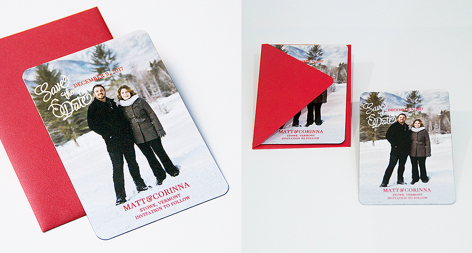 Magnet Save the Date cards