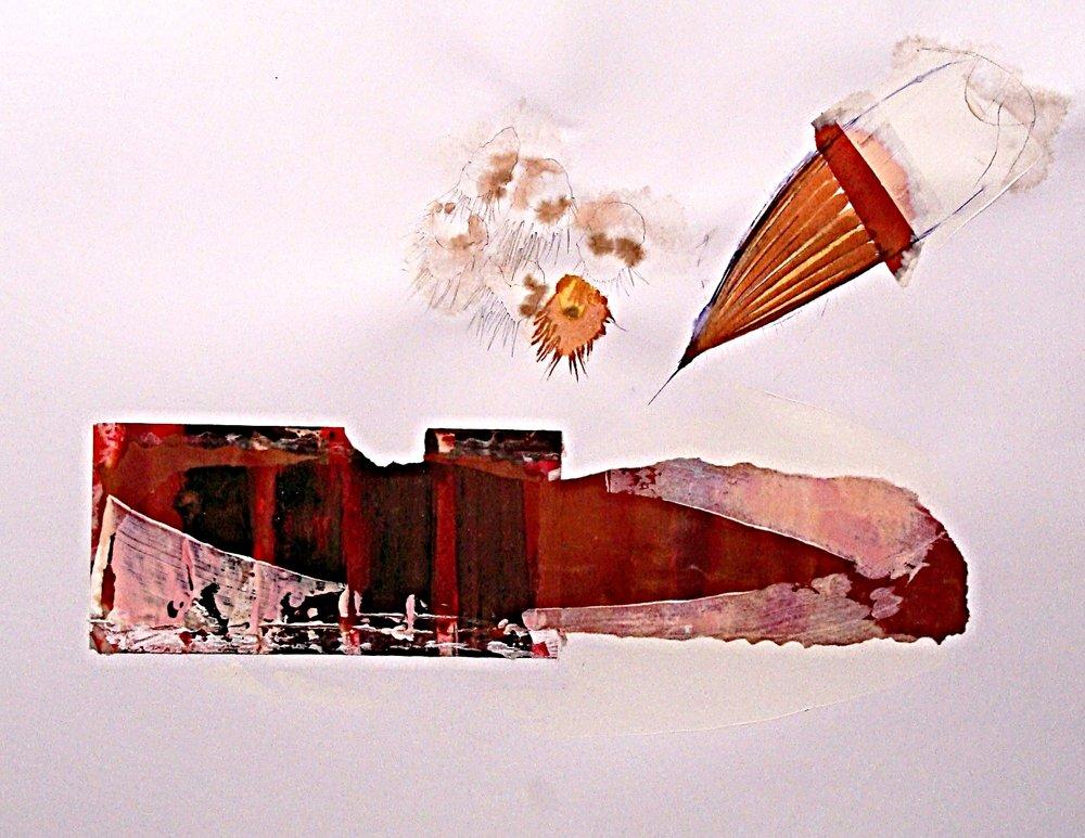 Vendetta series m/m on Bristol board 50x65cm 2012-13