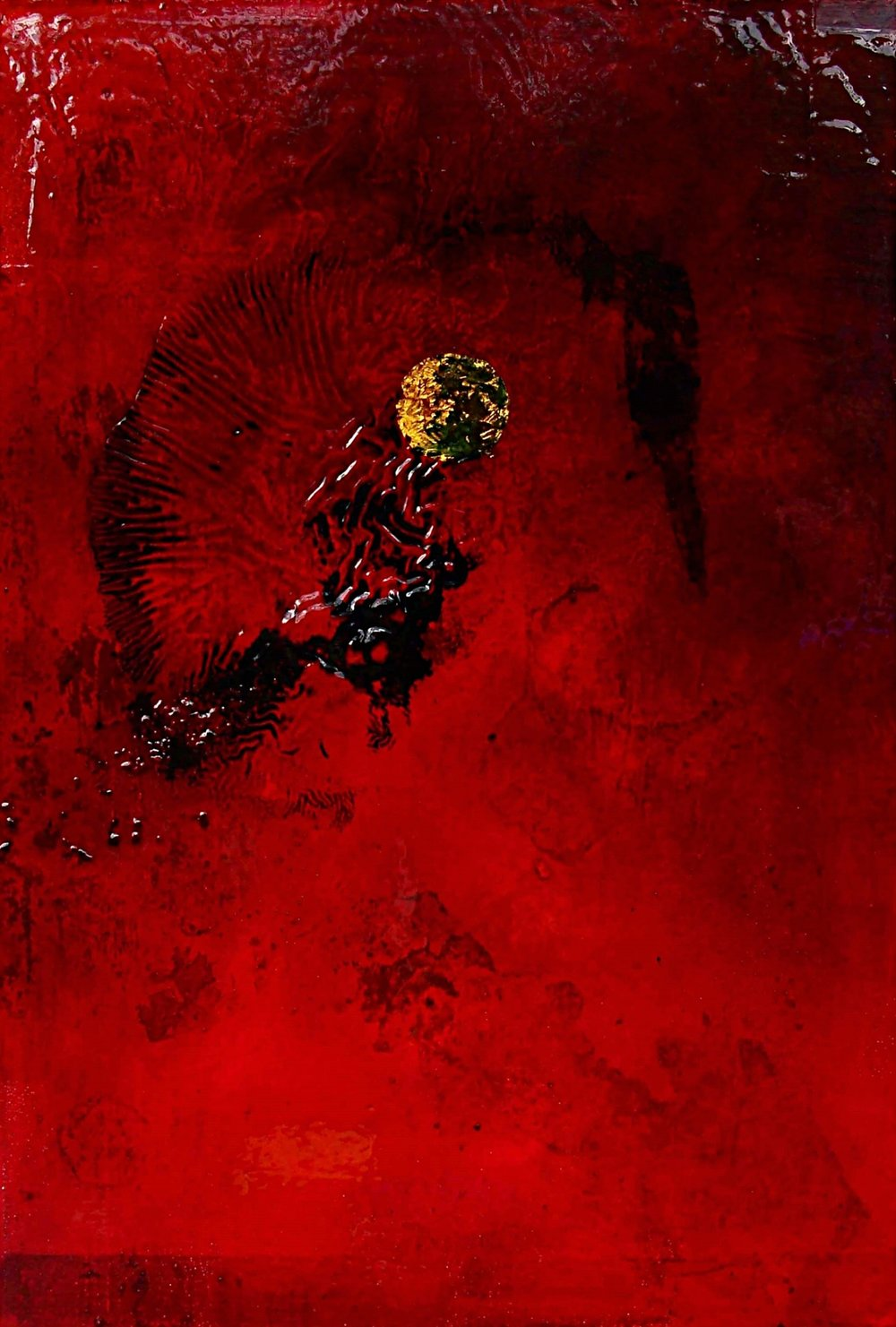 Corporeal 4 oil on canvas 60x90cm 2013-14