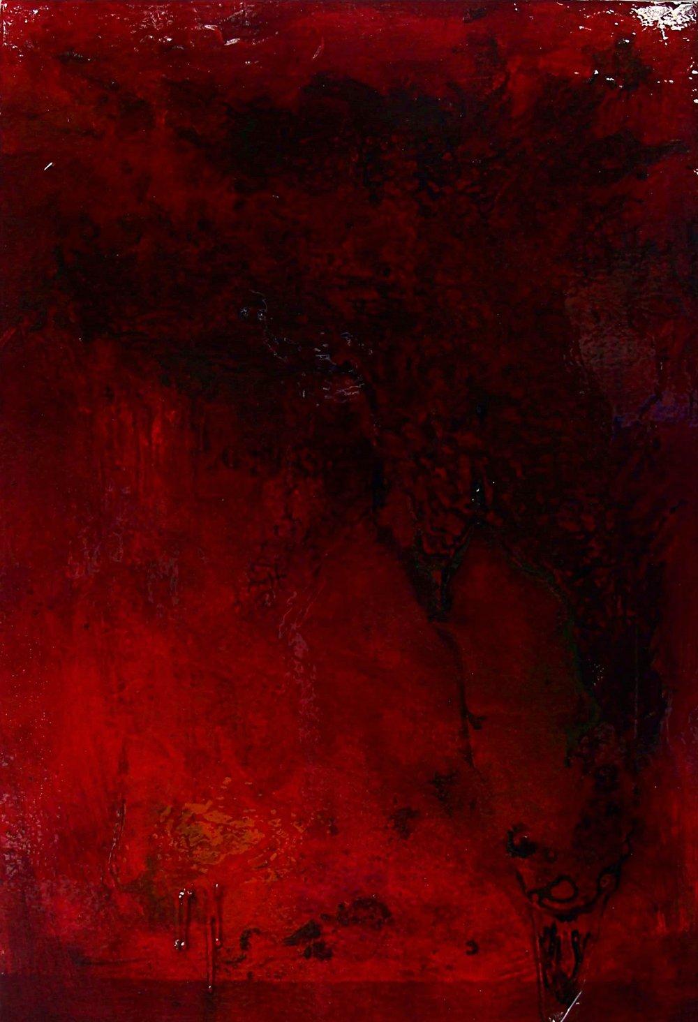 Corporeal 7 oil on canvas 60x90cm 2013-14
