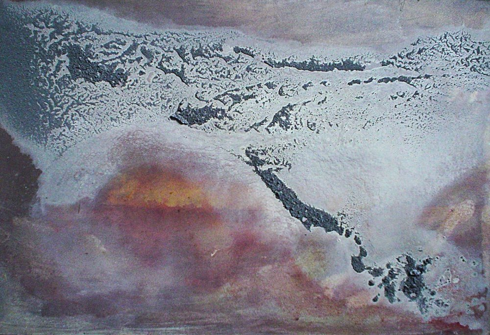 Desert Storm I  m/m on board 50 x 65cm 2000-04