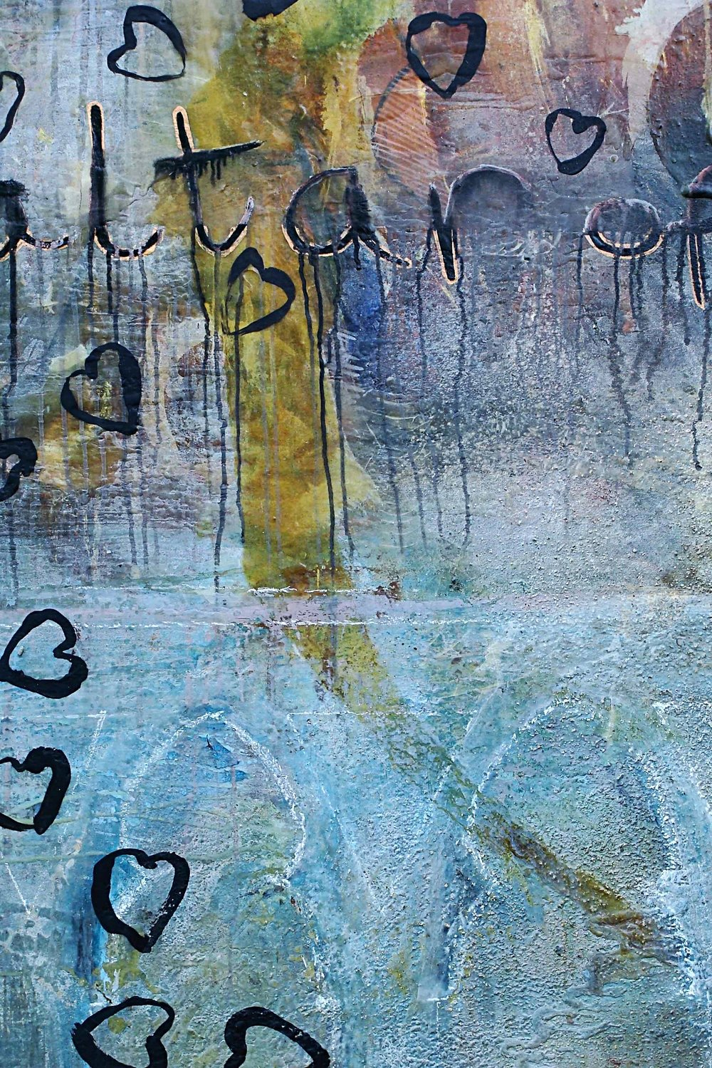 Angel detail 122x274cm 1998-2002