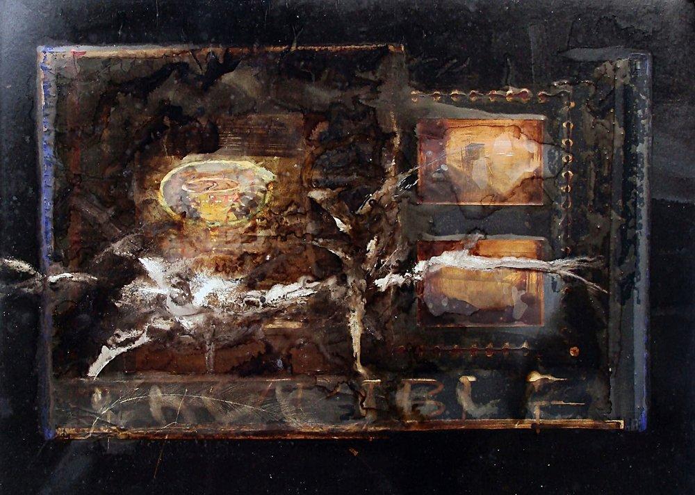 Thurible mixed media drawing 54 x 84cm  2010-14