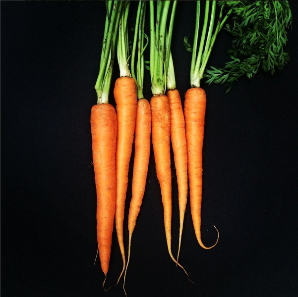food therapy carrots acusoul