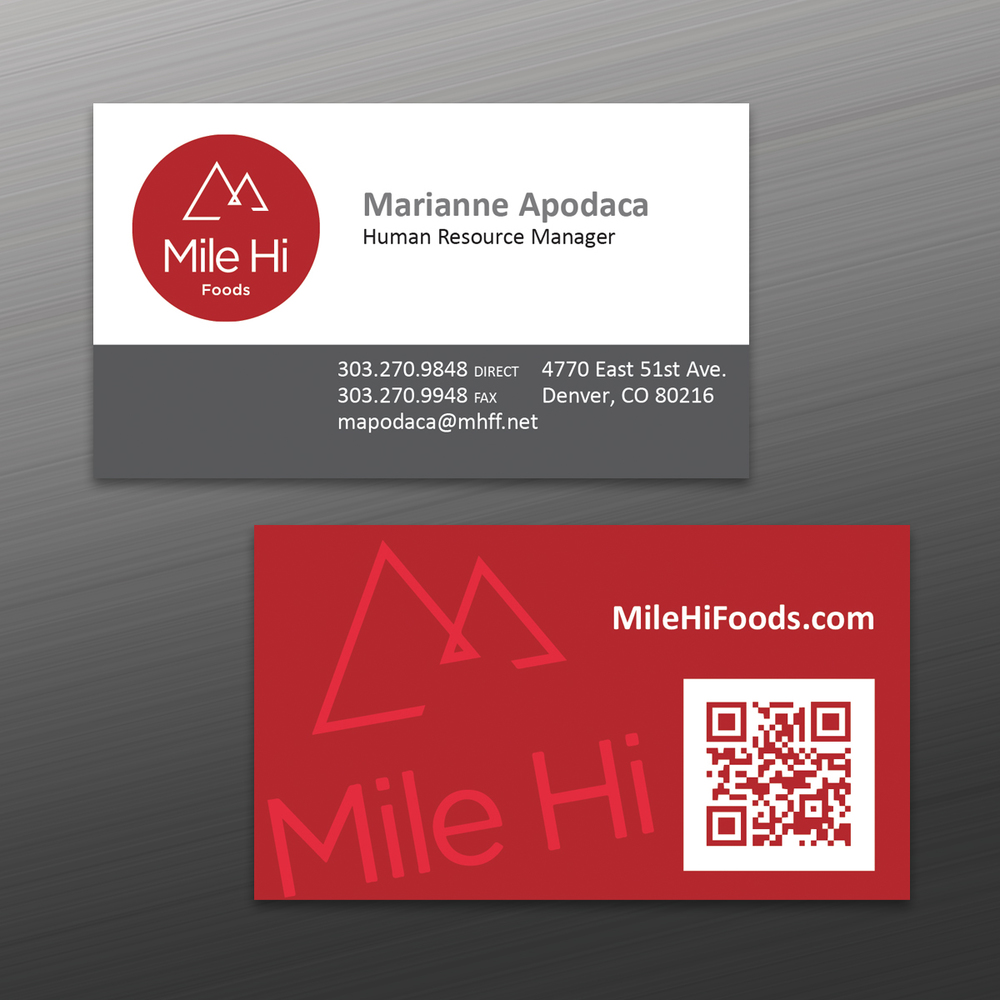 Business cards pepperdines marking products milehibcg colourmoves