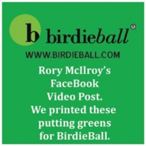 Pepperdines is the exclusive Printer for Birdie Ball - The largest Indoor Putting Green Supplier in the USA - Click to view the Video !