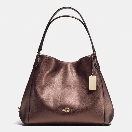 28ce8075cc34 Coach Style   36464-librz edie Shoulder Bag 31 Refined Pebble Leather