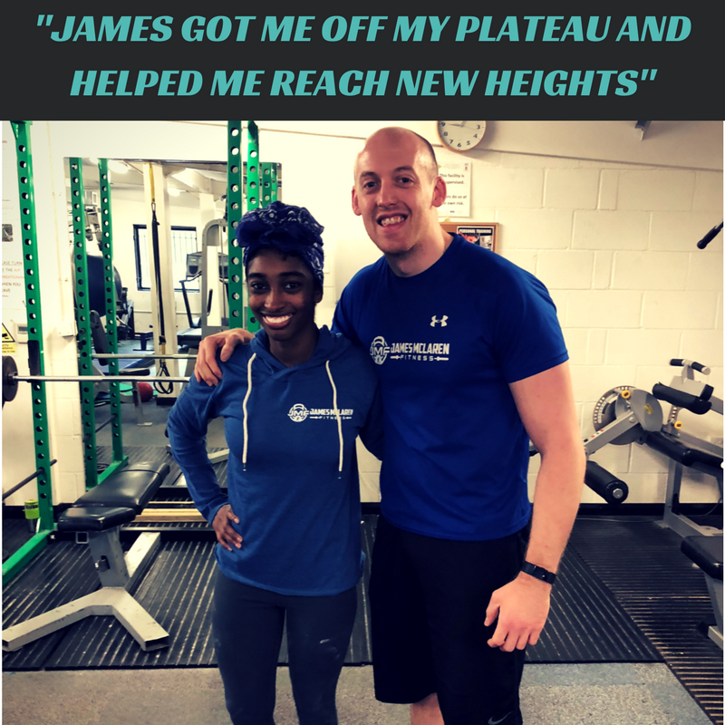 I have been working with James for six months now, and there has been a marked change in my strength and perception of health. At my initial consultation, I had no doubts that I'd picked a good PT. He made me feel comfortable with the idea of working with him straight out the gate. Even at my perceived best working out solo, I STILL couldn't manage a single pull-up and so set a simple goal: one single pull-up on my own, with him I've managed 4 by myself! In addition to helping me reach said goal, he's motivated me to stop farting around and go for another goal, which I'm now preparing for a figure competition! He's also helped me sort out my nutrition and find recipes that are nutritional and flavourful. My perspective on food has changed tremendously in the six months I've worked with him. James is very passionate about his work and it shows through the milestones he's helped me overcome, as well as the other clients in the group. He is exceedingly supportive of me and his group of clients, which he communicates with regularly through the client group. He's there for us for any question, however trivial or complicated it may be no matter the time of day. Despite my constant whining, I'm so grateful I clicked on that wonder woman ad I saw on Facebook. He got me off my plateau and helped me reach new heights. Thanks, Boss! - Quanna Husband