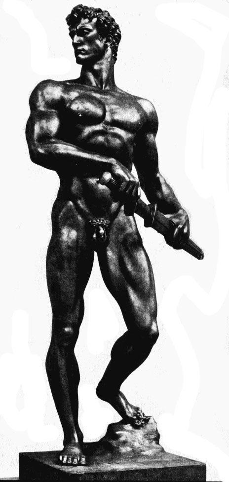 """Arno Breker, """"Bereitschaft (Readiness)"""" (1939)"""