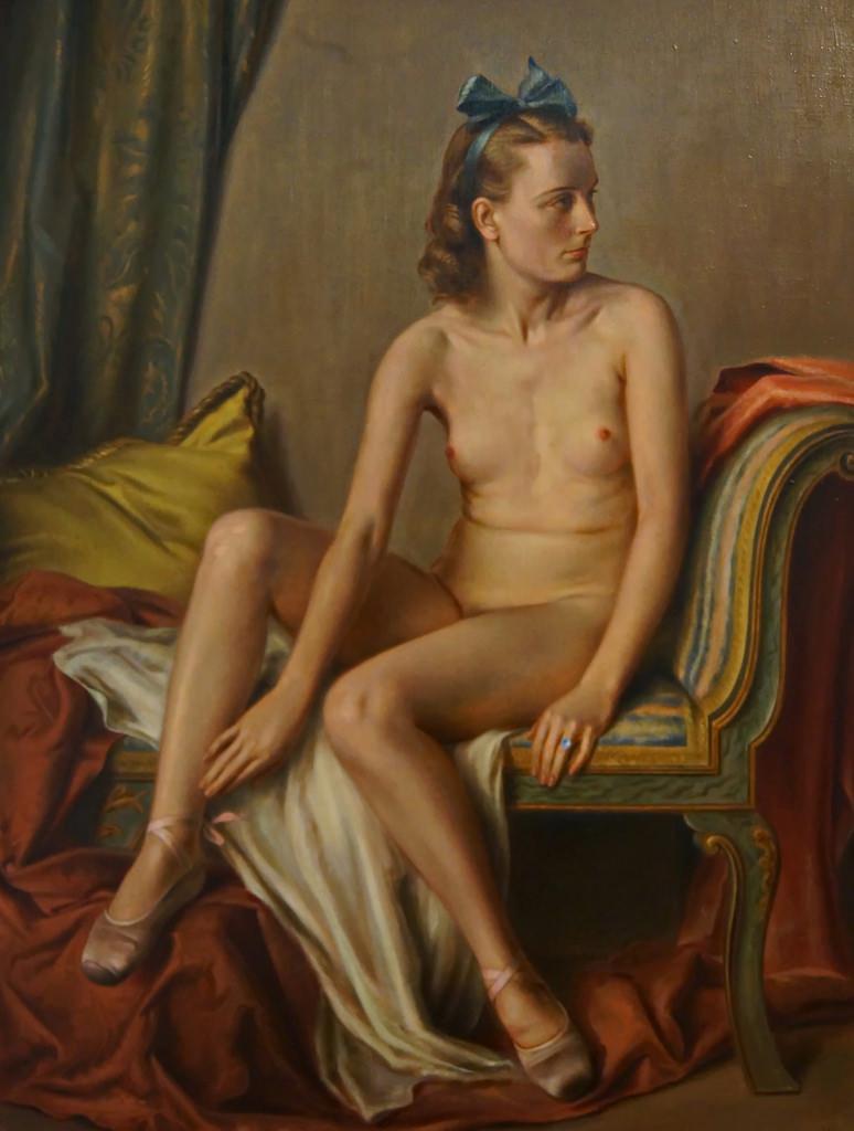 "Adolph Ziegler, ""Female Nude"" (1939)"