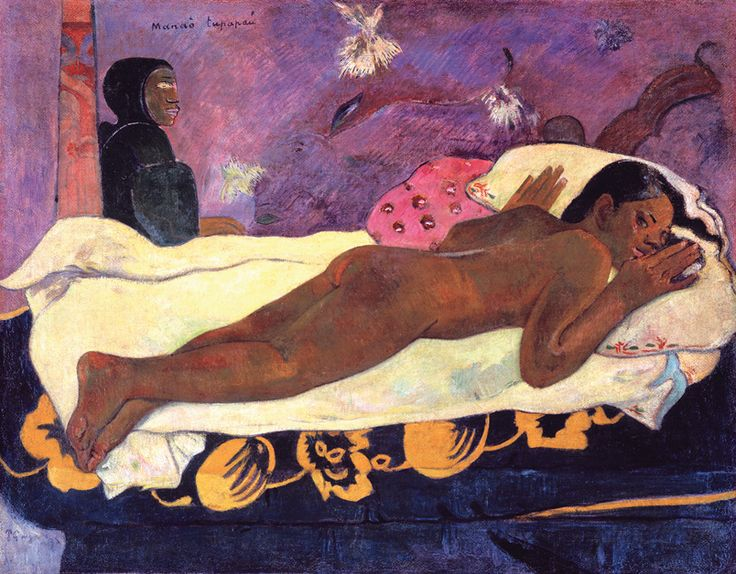 "Gauguin, ""Manao tupapau (Spirit of the Dead Watching)"" (1892)"