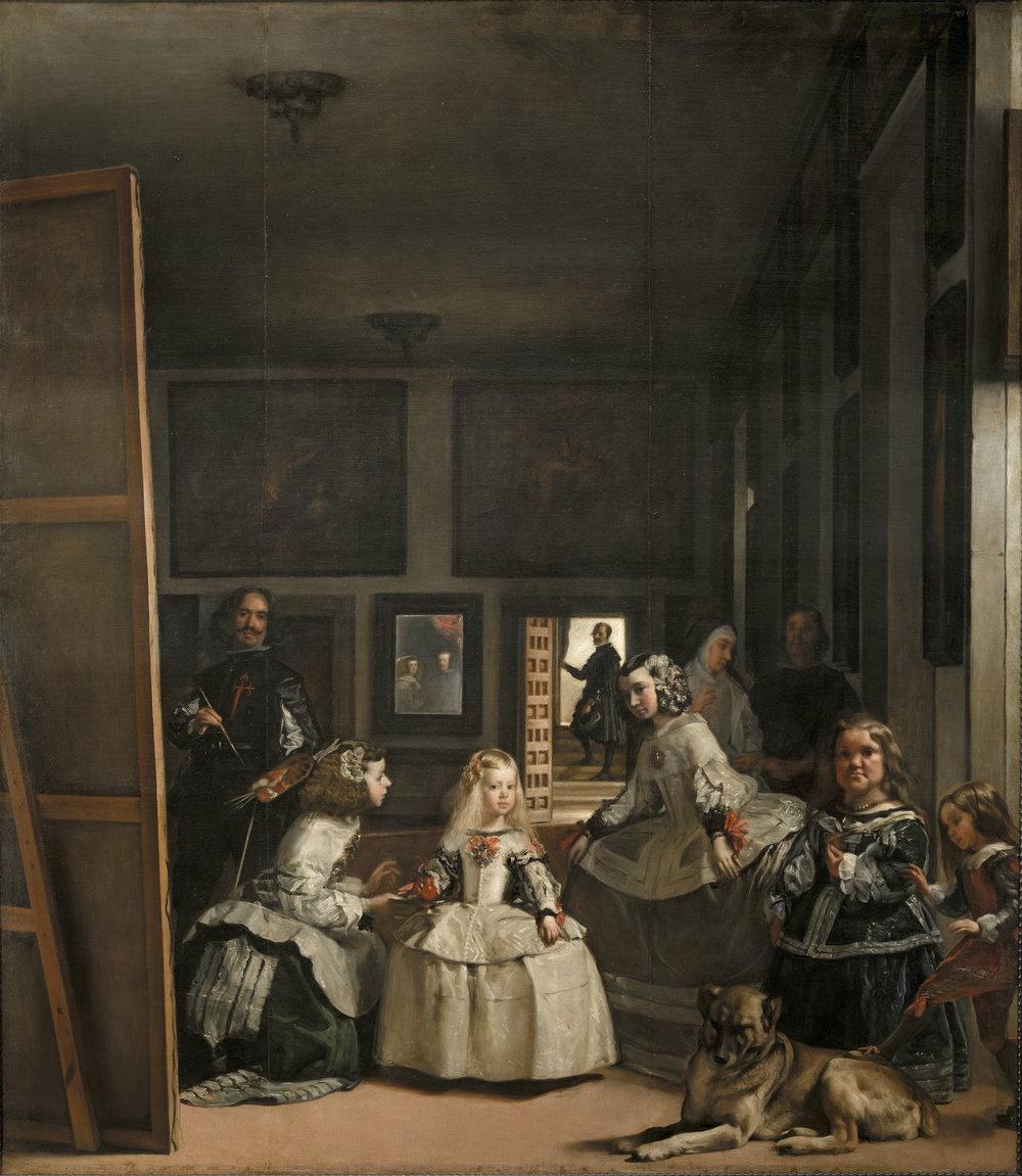 """Diego Velazquez's """"Las Meninas"""" (1656)"""