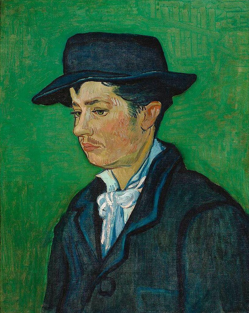 "Van Gogh, ""Armand Roulin"" (c. 1888)"