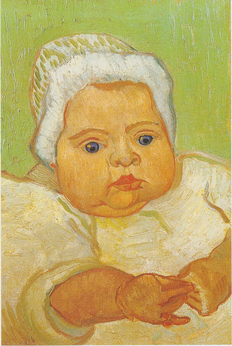 "Van Gogh, ""Portrait of Marcelle Roulin"" (1888)"