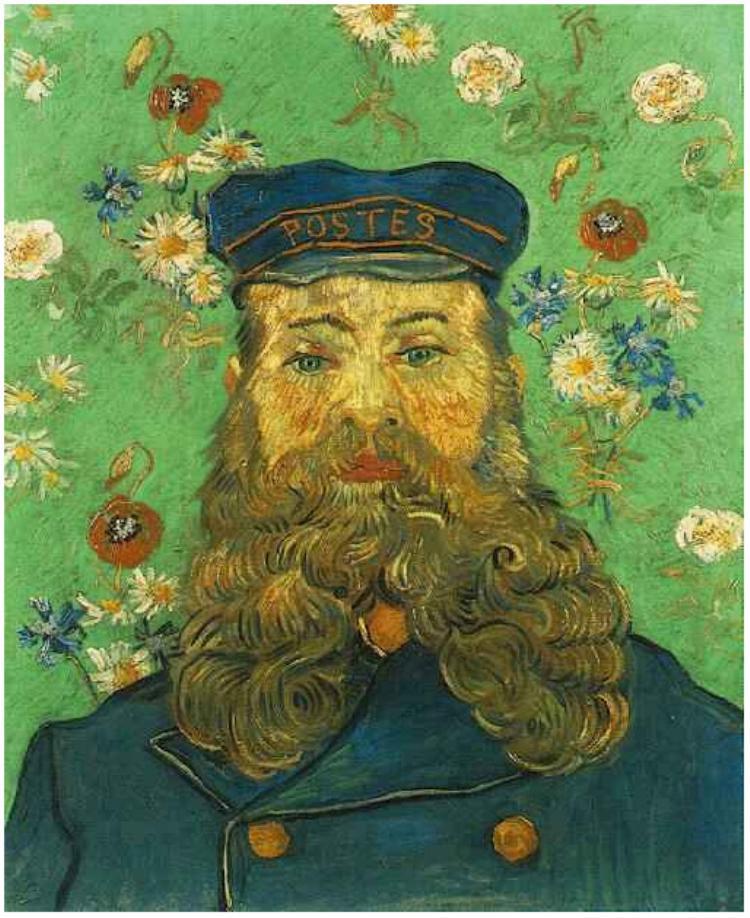 "Van Gogh, ""Portrait of the Postman Joseph Roulin"" (April 1888)"