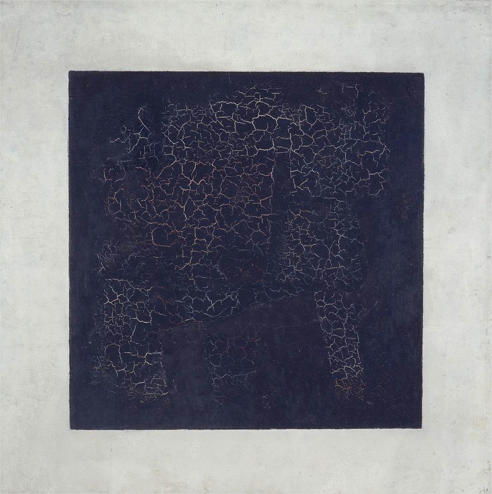"Kazimir Malevich, ""Black Square"" (1915)"
