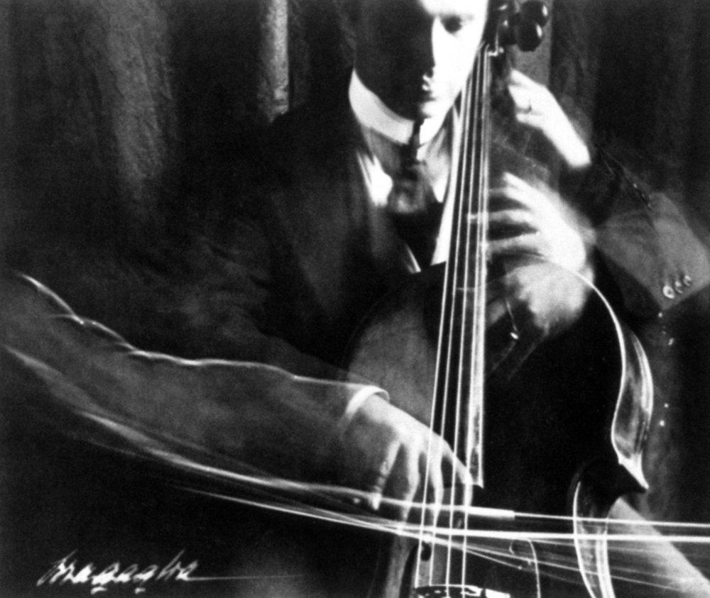 """Anton Bragaglia, """"The Cellist"""" (1913)"""