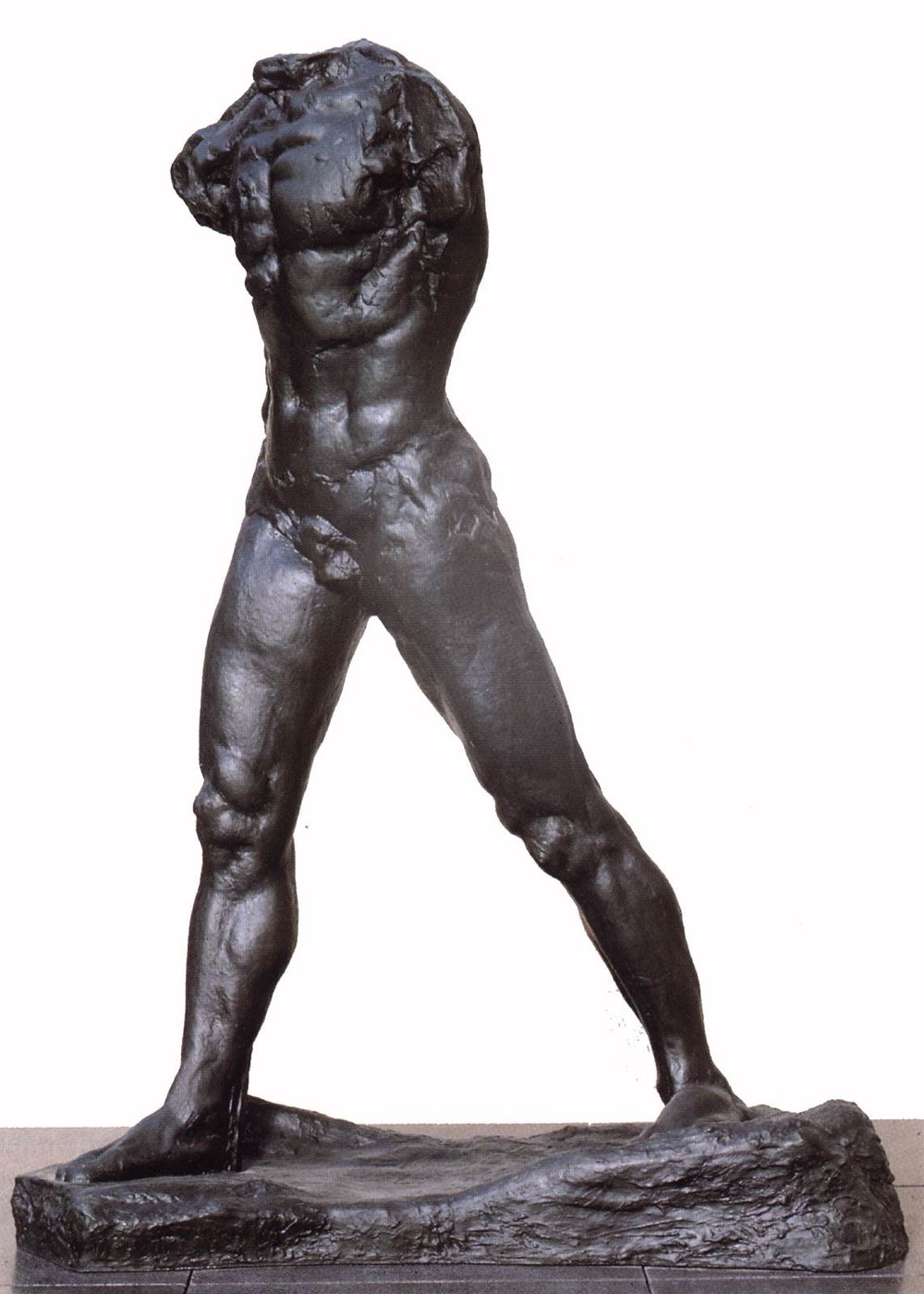 "August Rodin, ""The Walking Man"" (1907)"