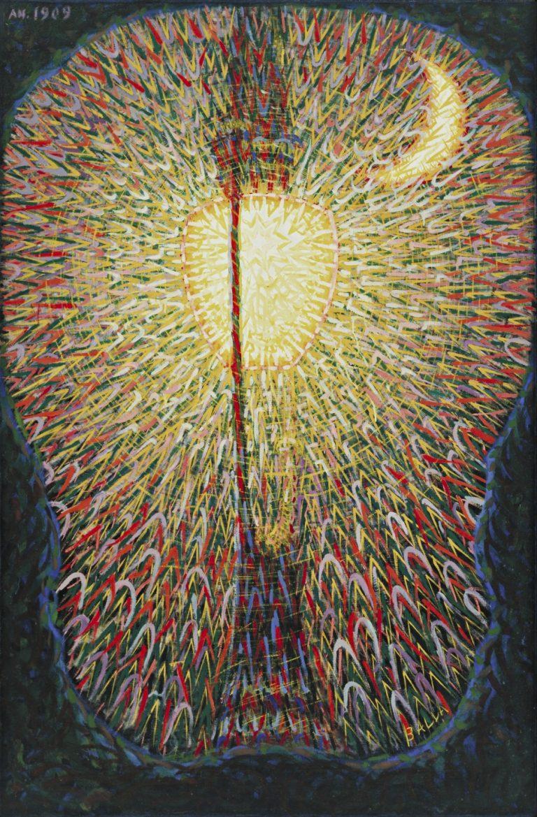 """Giacomo Balla, """"Street Light"""" (1909-1910)"""