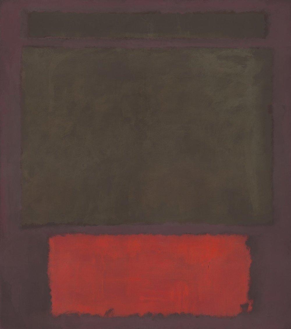 """Mark Rothko, """"No. 1"""" (1961)"""