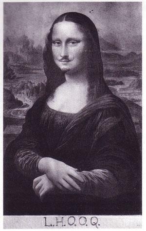 "Marcel Duchamp, ""L.H.O.O.Q."" (1919)"