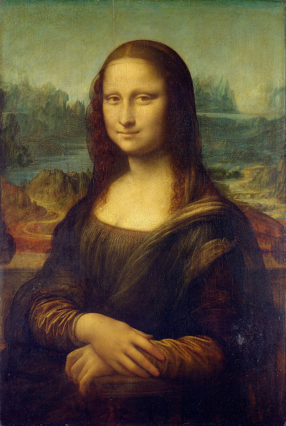 "Leonardo da Vinci, ""Mona Lisa"" (1503-06; as late as 1517-19)"