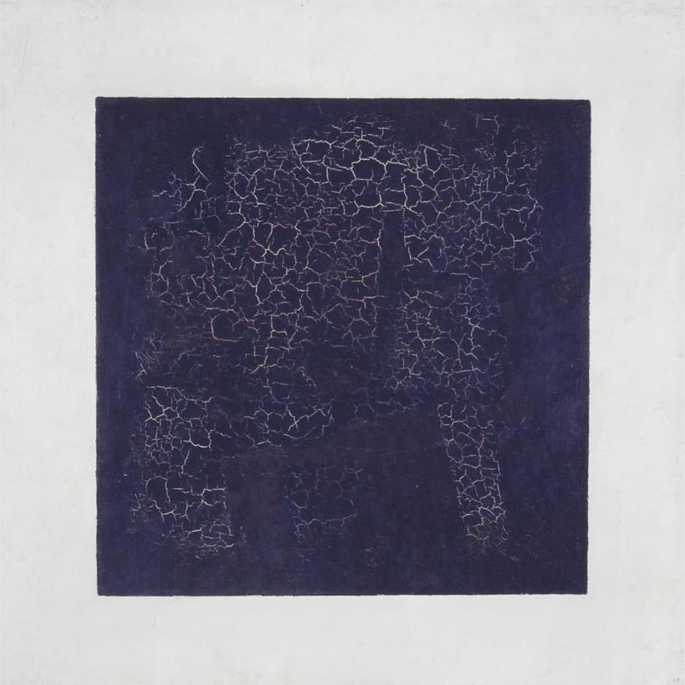 "Kazamir Malevich, ""Black Square"" (1915)"