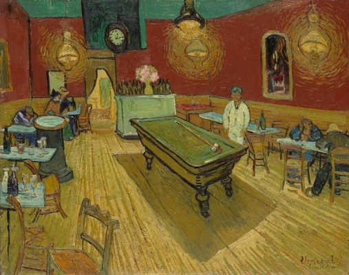 "Van Gogh, ""The Night Café"" (1888)"