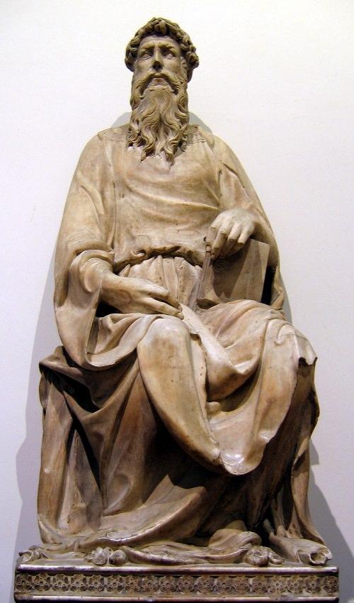"Donatello, ""St. John the Evangelist"" (c. 1408-1415)"
